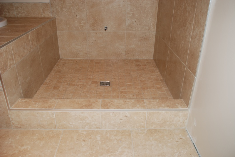 resealed shower cell